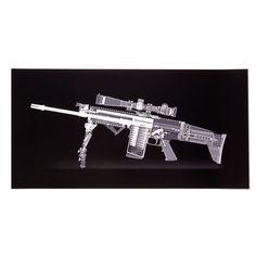 "X Ray Guns - guns ""recontextualized as design objects"""