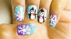 Image result for Winter Nail Art Designs