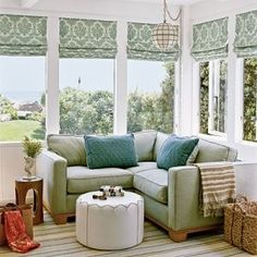 small corner couch to crash/sit in the sunroom& half can be a play space? small [& The post small corner couch to crash/sit in the sunroom& half can be a play space? appeared first on Trending Hair styles. Small Corner Couch, Room Corner, Small Sofa, Tiny Couch, Small Space Couch, Couches For Small Spaces, Canape D Angle Design, Small Sunroom, Conservatory Decor Small