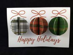 Plaid Pop-up Christmas Ornament Card Printable Plaid | Etsy Printable Christmas Ornaments, Pop Up Christmas Cards, Merry Christmas, Christmas Card Template, Plaid Christmas, Christmas Greeting Cards, Christmas Greetings, Holiday Cards, Christian Cards