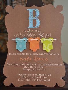Convite Chá de Bebe