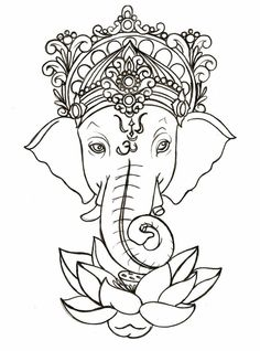 indian elephant draw - Pesquisa do Google