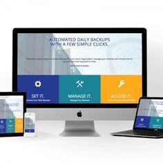 CloudAlly Website Design My Portfolio, Ads, Website, Design