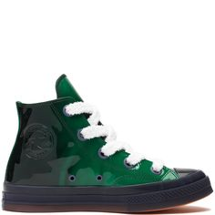847096f3fa67 Converse x JW Anderson Patent Leather Chuck 70 High Top Mountain  View Jolly Heron