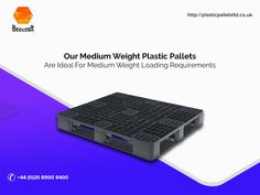 Medium weight pallets are made for not-too-heavy & not-to-light loading requirements. These reusable pallets are economical for transporting medium weight loads. Information About Plastic, Plastic Pallets, Pallet Crates, Medium, Medium-length Hairstyle