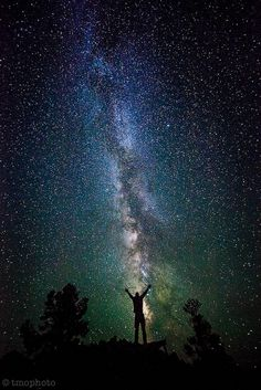 Milky way in Great Basin National Park, Nevada near the Utah border