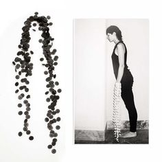 "CAMILLA PRASCH-DK, ""Verlängert Fünf"", 2005 #smykker #jewelry"