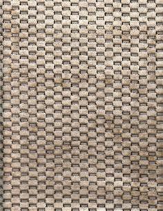 Pollack Upholstery Fabric Checkered Velvet Oyster 5.25 yds CC9