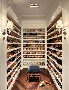 .Algun dia ...podre organizar asi mis zapatos