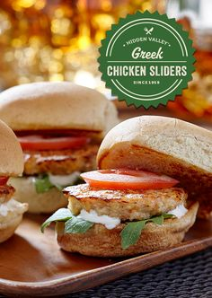 Shake-up your burger routine with this tasty Greek chicken slider recipe. Great on the grill, fantastic on a frying plan. Also, you can easily swap ground turkey for chicken. Just so many options!