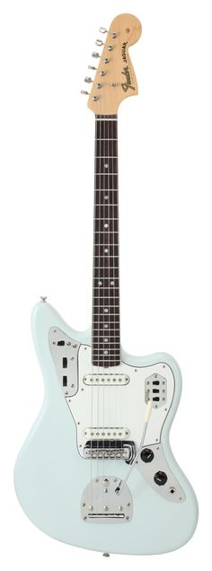 Fender American Vintage 65 Jaguar Sonic Blue...that blue is so gorgeous!