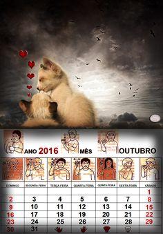 Calendario Outubro de 2016-lenalima fotografa em Belo Horizonte.