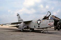 USN Vought F-8 Crusader.