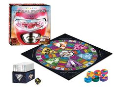 TRIVIAL PURSUIT: The Power Rangers 20th Anniversary Edition | USAopoly