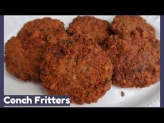 For this seafood Friday during Lent, we're doing conch fritters. This dish is meant to be a finger food or hors D'voure, but you can also eat it as a side di. Conch Recipes, Conch Fritters, Ambergris Caye, White Rice, Message Board, Belize, Finger Foods, Stew, Side Dishes