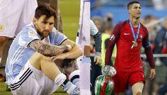 Liga Spanyol: Sindir Messi, Ronaldo: Lebih Sulit Menang dengan Portugal daripada dengan Argentina