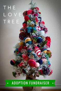 The Love Tree Adoption Fundraiser. Perfect For Christmas!