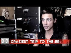 Hot Minute: Andy Biersack - YouTube