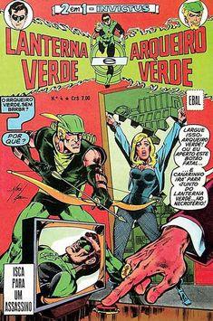 Cover for Invictus (formatinho, 1ª Série) [Lanterna Verde, Arqueiro Verde e Flash] (Editora Brasil-América [EBAL], 1977 series) #4