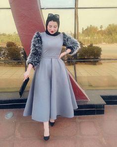 Likes, 145 Comments - Omneia Zidan Modern Hijab Fashion, Hijab Fashion Inspiration, Muslim Fashion, Indian Fashion, Frock Fashion, Cozy Fashion, Fashion Dresses, Abaya Fashion, Couture Fashion