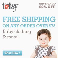 Totsy – Children's Discount Shopping on http://www.icravefreebies.com/
