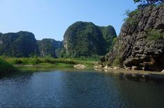 "Van Long Nature Reserve Day Trip with Rural Hanoi Excursion Escape the big city to explore one of Vietnam's most beautiful areas, Van Long nature reserve in Ninh Binh province. It is often referred to as the ""Inland Halong Bay"" due to its spectacular scenery of stunning limestone formations, lush vegetation and picturesque paddy fields.We will pick you up from the hotel for a 2-hour drive south of Hanoi to the Ninh Binh province. You will receive bicycles for the ride around t..."