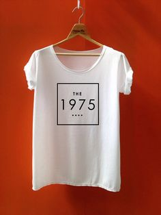 The 1975 shirt the 1975 band t-shirt  white tshirt size s m l on Etsy, $14.99