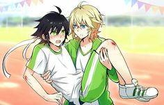 Mika and yuu yaoi owari no seraph / seraph of the end Mikayuu Fan Anime, Anime Love, Anime Guys, Mika And Yu, Scariest Monsters, Character Art, Character Design, Mikaela Hyakuya, Yaoi Hard
