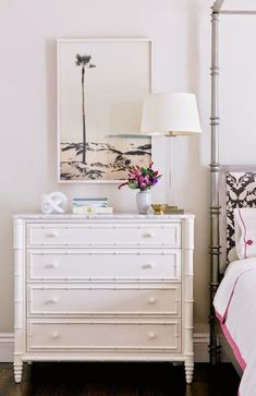 Bedside tables like this.