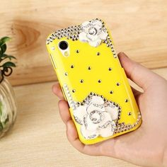 3d Bling Crystal Rhinestone Flower Case Cover for Samsung S5830 S5830i Mobile Phone Yellow by SKYTECH, http://www.amazon.co.uk/dp/B00EI7XVTS/ref=cm_sw_r_pi_dp_vtDcsb0XXY236