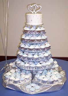 Anyone doing the Cake on top and the rest cupcakes?? | Weddings, Style and Decor | Wedding Forums | WeddingWire