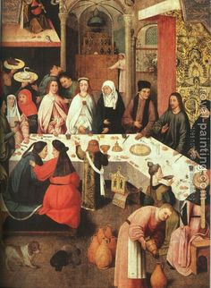 Hieronymus Bosch : Marriage Feast at Cana