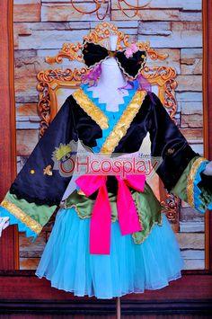 Ruler Vocaloid-Muki PROJECT DIVA2 Courtesan kimono Lolita Cosplay Costume