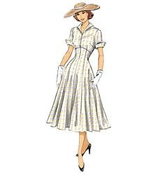 B6018 - Butterick  I think I am going to have to make this - the perfect line for me as well.