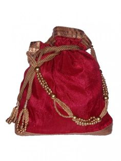 ... about potli on Pinterest Ethnic bag, Handmade clutch and Ethnic