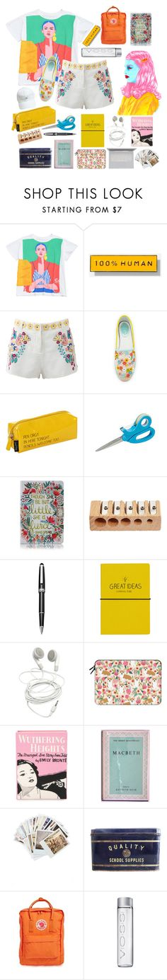 """""""Be Bold or Go Home"""" by rainbows12302 ❤ liked on Polyvore featuring Everlane, Antik Batik, René Caovilla, Happy Jackson, Folio, Montblanc, Wild & Wolf, Casetify, Olympia Le-Tan and MACBETH"""