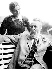 Theodor Kittelsen and his wife. He was born in Kragerø and died in Theodore Kittelsen, John Bauer, Norway, Illustrators, Scandinavian, Fairy Tales, Romantic, Culture, History