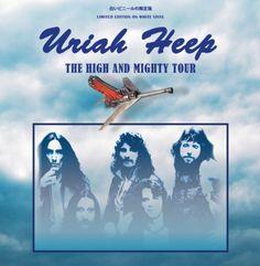 Uriah Heep - High And Mighty Tour - Ltd. Edn. (White Vinyl LP) Coda 5060420346596 Trevor Bolder, John Wetton, Uriah, White Vinyl, Tours, Lp, David, Products