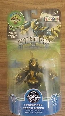 New Skylanders Swap Force Legendary Free Ranger