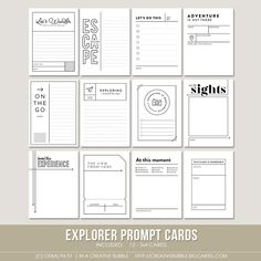 In a Creative Bubble: Shoppe Update // Explorer Collection
