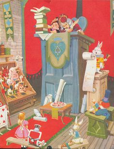 Alice in wonderland Hutchings 1965