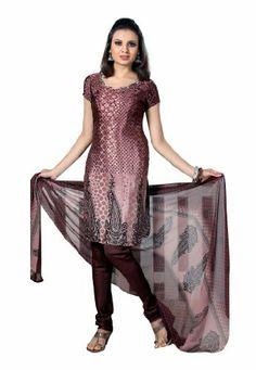 Fabdeal Women's Indian Designer Wear Printed Salwar Coffee Fabdeal, http://www.amazon.co.uk/dp/B00GAPWIZ4/ref=cm_sw_r_pi_dp_IGNntb17RRX3P