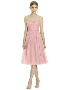 JY Jenny Yoo Bridesmaid style JY535 in Rose - PANTONE Rose Quartz. Dessy Group