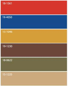 color palette brown olive green gold beige warm red cool - Green And Gold Color Scheme