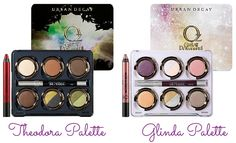 BEAUTY-LICIEUSE: [Concours] - Palettes Theodora & Glinda Urban Decay