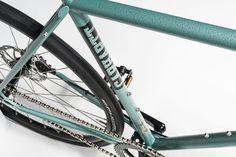 Carhartt X Pelago bicycle  Pelago bikes are made in Finland Hammerlack Green paint job