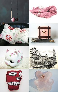 autumn pink by renee and gerardo on Etsy--Pinned with TreasuryPin.com