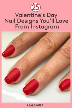 Valentine's Day nail designs are a perfect way to accessorize this holiday. Here are our top picks for fashion forward Valentine's Day nails. Uv Gel Nails, Diy Nails, Manicure, Nail Polish Dupes, Nail Polish Art, Valentine's Day Nail Designs, Heart Nails, Sinful Colors, Pretty Nail Art