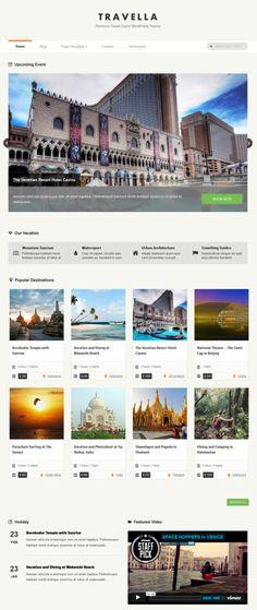 Travella Theme   Grand Themes
