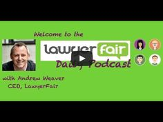 LawyerFair Daily Podcast Patrick Cahill from Qlegal, a free resource for startup entrepreneurs - LawyerFair: Find The Best Lawyers for Your Business! We compare lawyers & costs. You save time & money. Good Lawyers, Business Entrepreneur, Money, Free, Silver
